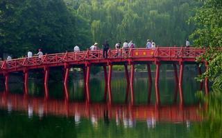 Hanoi, jazero Hoan Kiem
