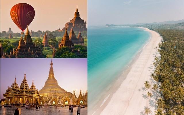 Malý okruh Mjanmarskom, pamiatky UNESCO