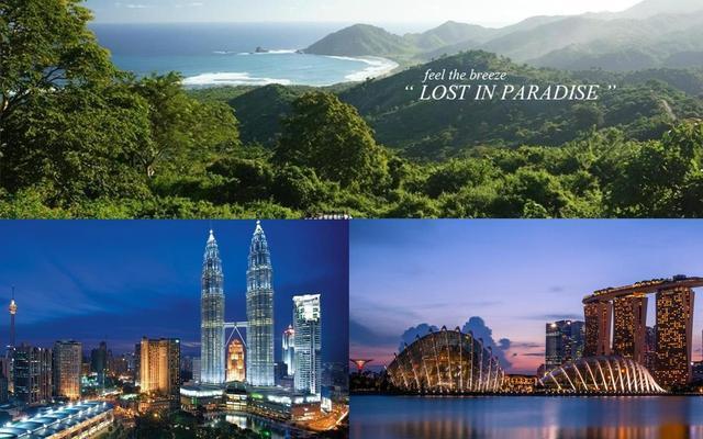2 veľkomestá a tropický ostrov: KL, Lombok a Singapore