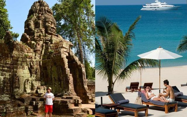 Thajský ostrov Phuket a poklady Angkoru