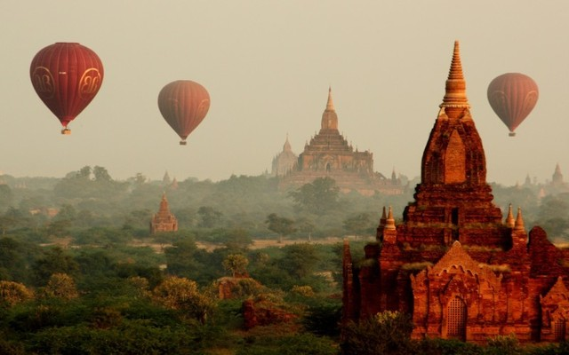 Bagan na bicykloch