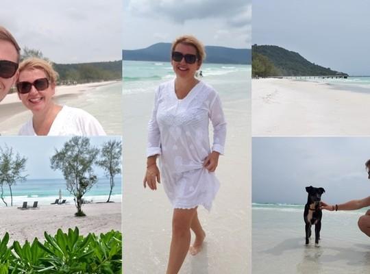 Máj 2019 KAMBODŽA ostrov Koh Rong