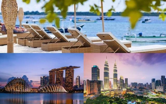 2 veľkomestá a korálový ostrov: KL, Gili Trawangan a Singapur