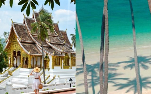 Thajský ostrov Koh Samui a romantický Luang Prabang
