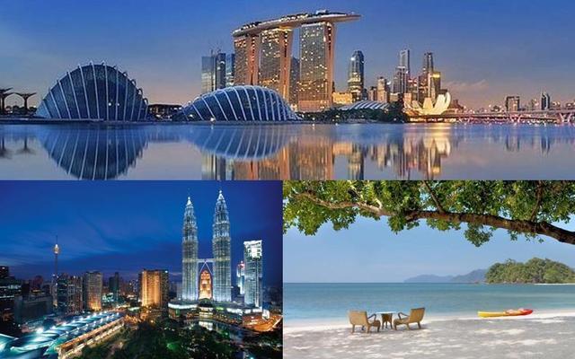 2 veľkomestá a oddych na pláži: KL, Langkawi a Singapur