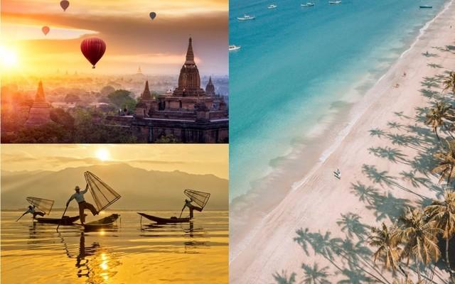 Malý okruh Mjanmarskom: Ngapali, Inle, Bagan