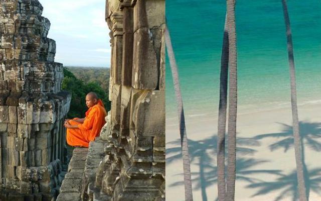 Thajský ostrov Koh Samui a poklady Angkoru