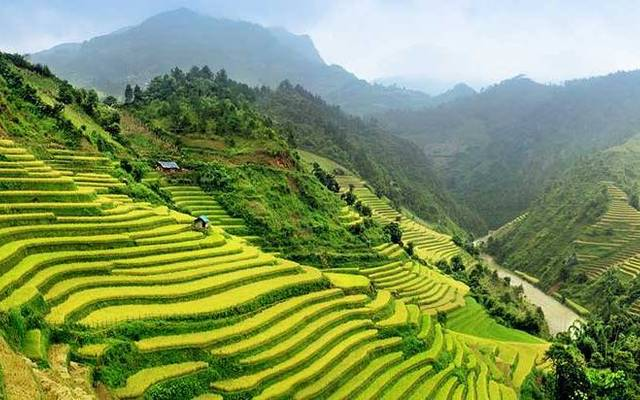 Sapa - údolie Muong Hoa