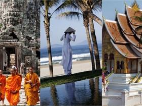 Indočínsky trojlístok, južný Vietnam, Kambodža & Laos