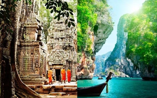 Krásne pláže provincie Krabi a poklady Angkoru