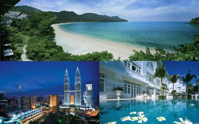Malý okruh Malajziou - poklady UNESCO