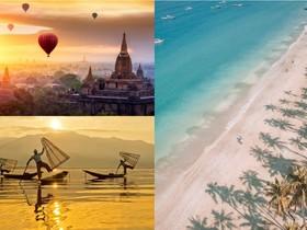 Malý okruh Myanmarskom: Ngapali, Inle, Bagan